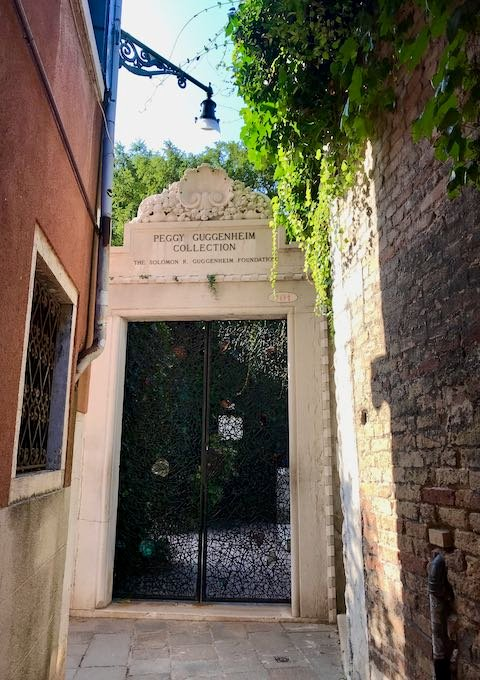 The Peggy Guggenheim Collection houses a superb private collection of contemporary art.