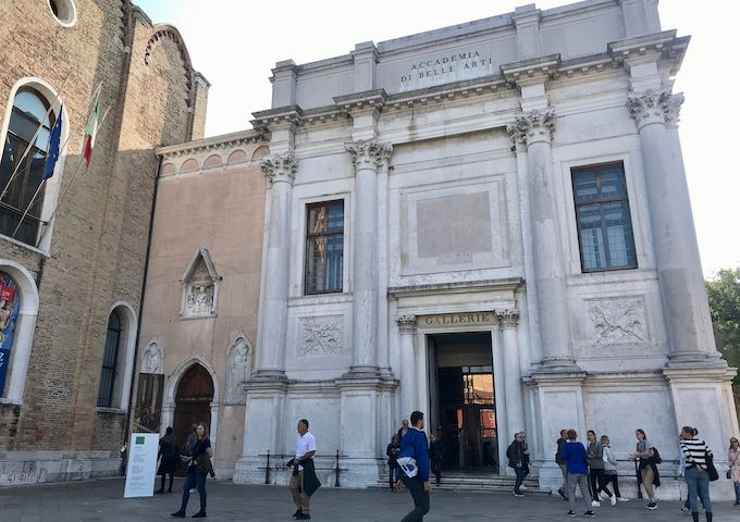 Gallerie dell'Accademia houses a superb collection of pre-19th-century art.