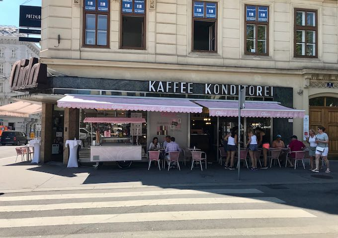 Kaffee Konditorei is great for a tea or coffee.