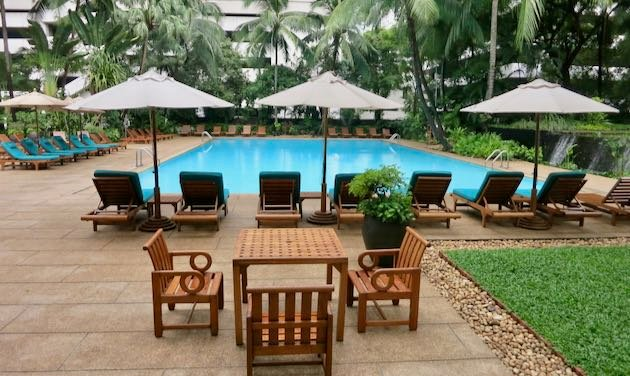 Best Bangkok family hotel with pool.