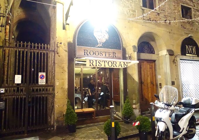 Rooster Restaurant in the City Center of Florence