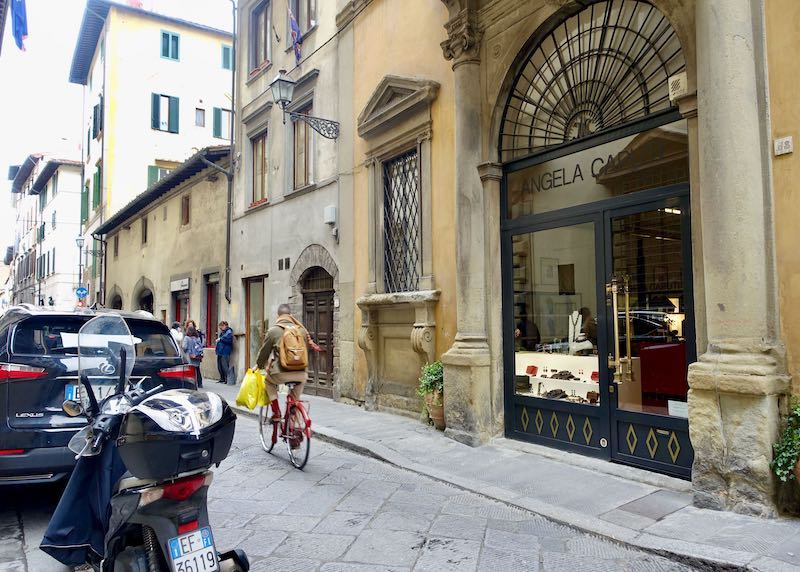 Angela Caputi costume jewelry shop in Santo Spirito, Florence