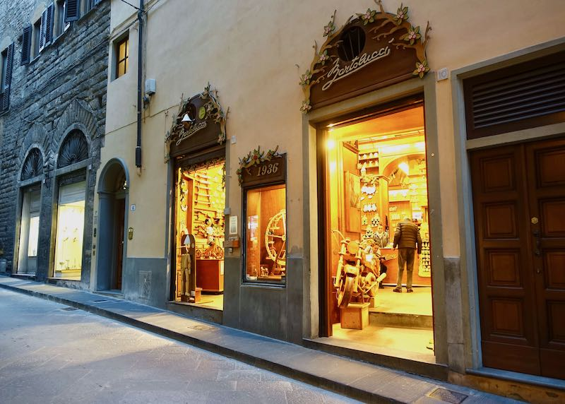 Bartolucci shop in Florence City Center