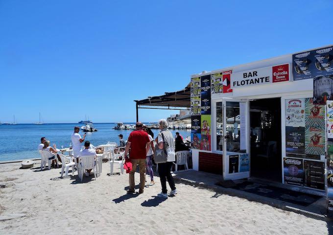 Bar Flotante is a great beachside eatery.