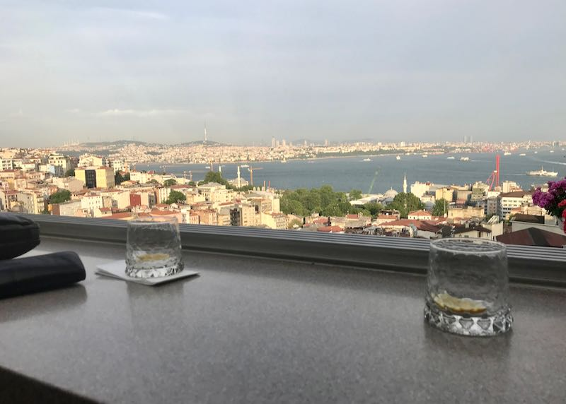 360 Istanbul Bar offers fantastic views.