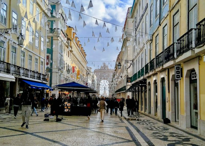 Rua Augusta is a great shopping street.