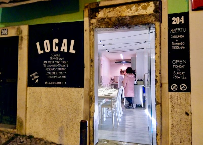 Local is a great chef's table restaurant.