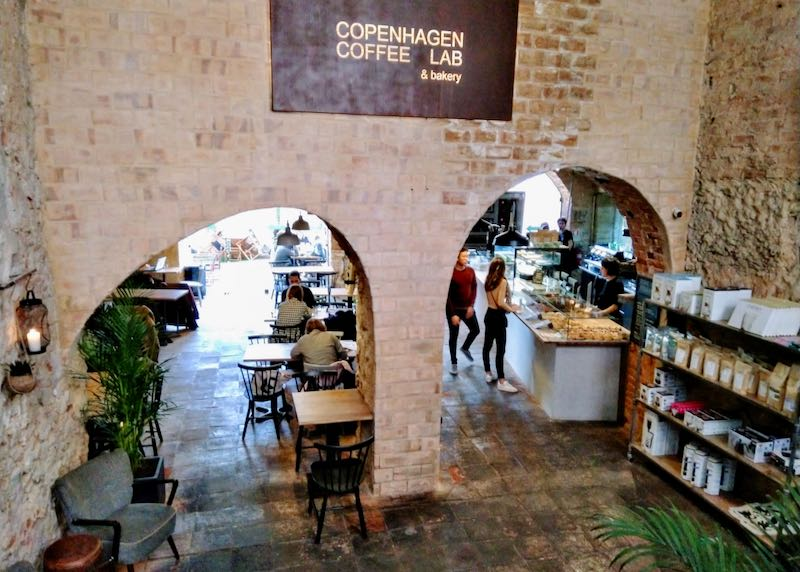 Copenhagen Coffee Lab and Bakery serves great coffee.