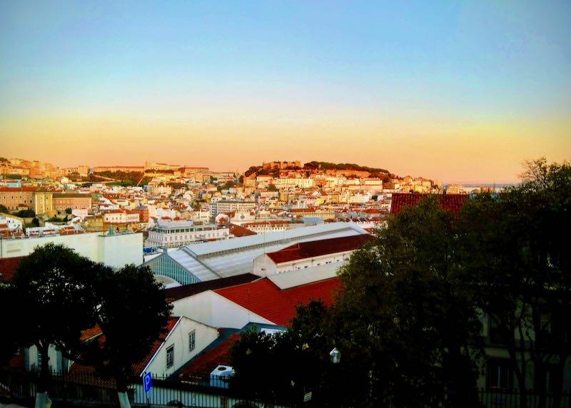 Miradouro de São Pedro de Alcântara offers amazing views.