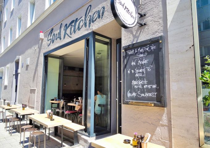 Soul Kitchen is located opposite the hotel.