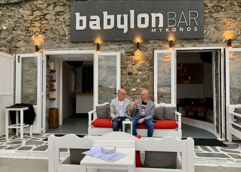 Babylon Bar entrance