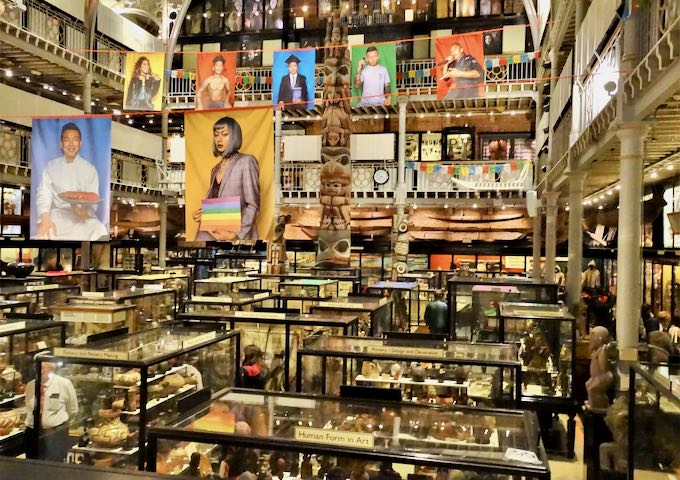 The Pitt Rivers Museum is an unmissable attraction.
