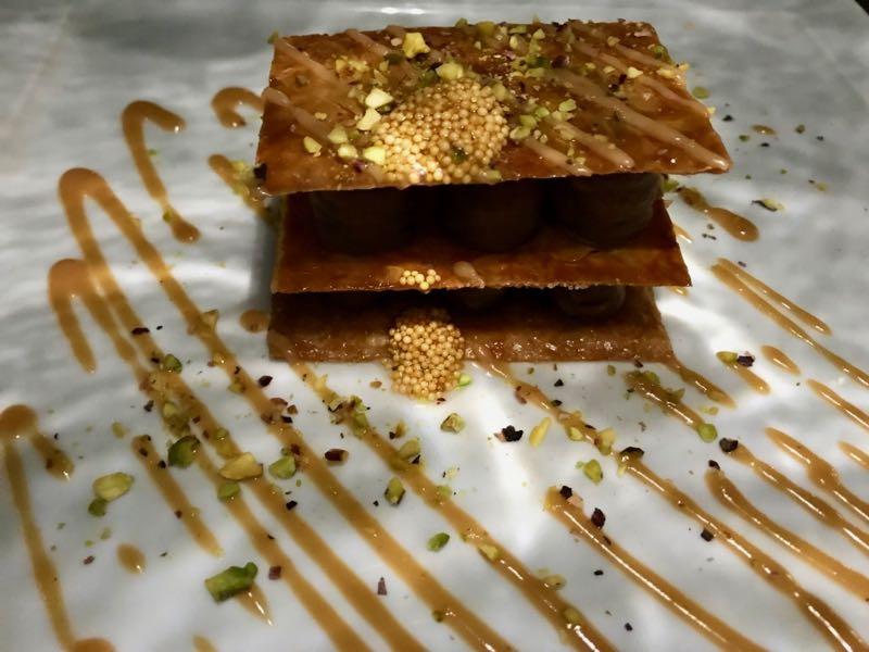 santorini athenian house restaurant dessert