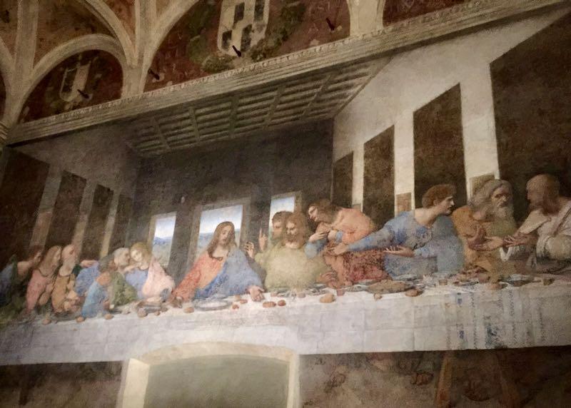 Da Vinci's Last Supper painting