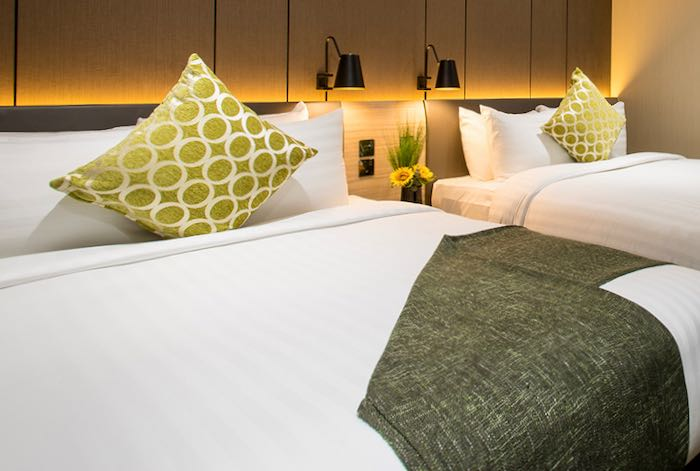 Hotel for families at Heathrow Airport in London.