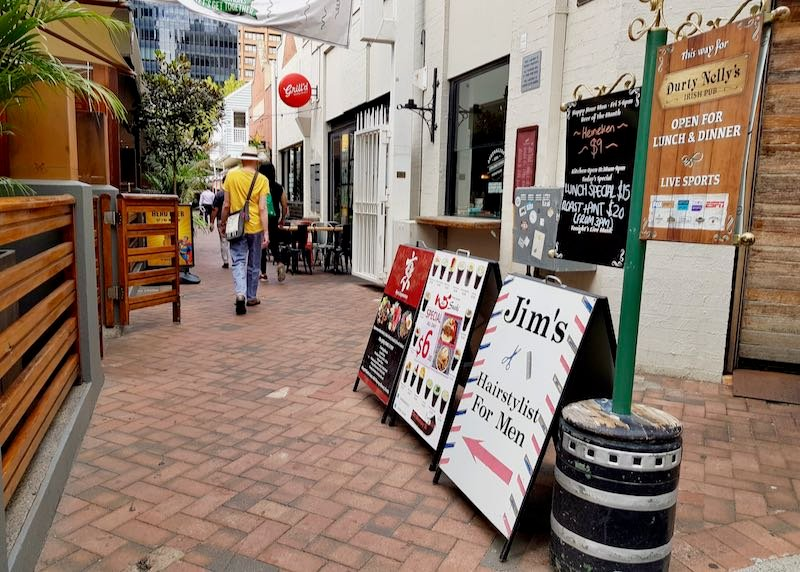 Shafto Lane close by has several great cafes and bars.
