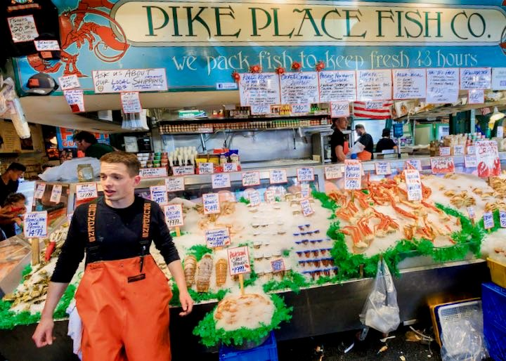 Food tour of Pike Place Market.