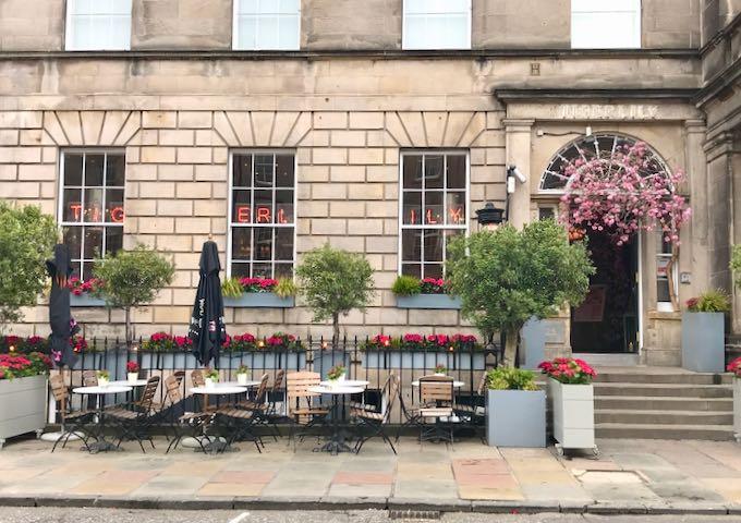 The Tigerlily Hotel in Central Edinburgh.
