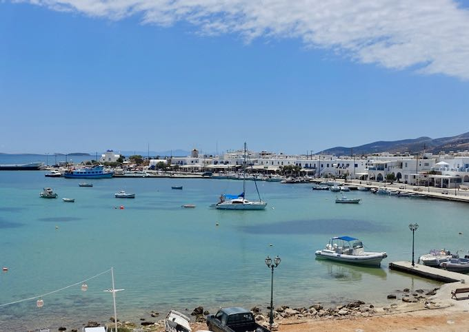 Best areas to stay in Paros.