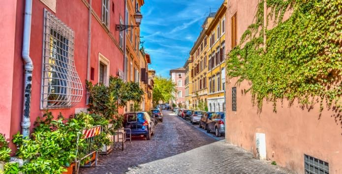 Best places to stay in Trastevere.