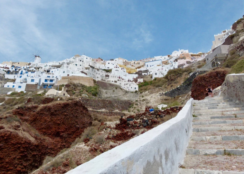 stairs to amoudi bay