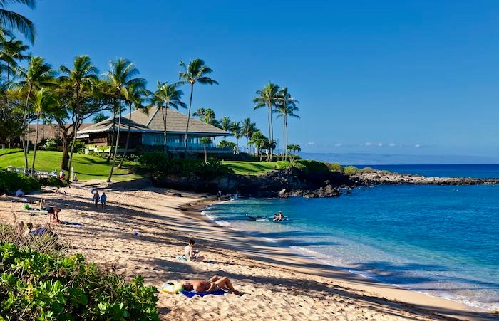 Best beach in Maui, Hawaii.