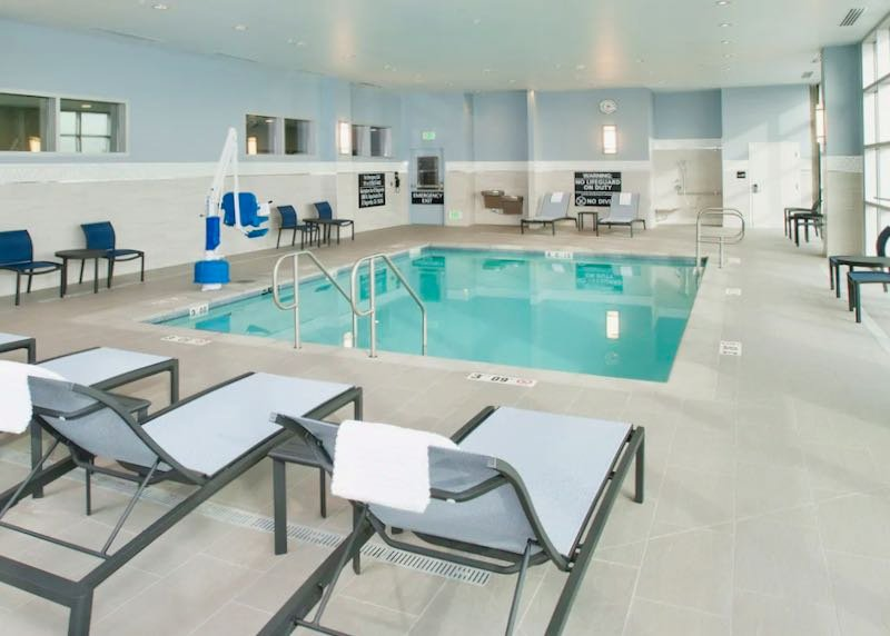 Hotel near LAX Airport with indoor pool.