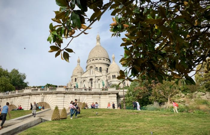 Sacre Couer cathedral in Paris