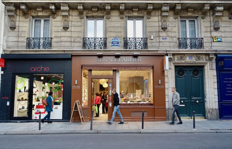 Arnaud Larher bakery in Paris