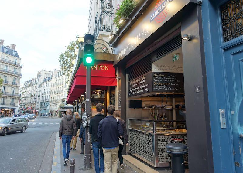 L'Avant Comptoir bar in Paris