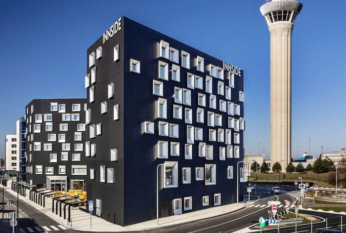 Paris Airport Hotel within walking distance of terminal.
