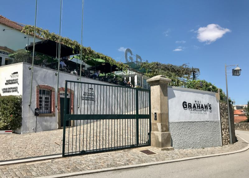 Graham's is considered as Porto's best Port wine lodge.
