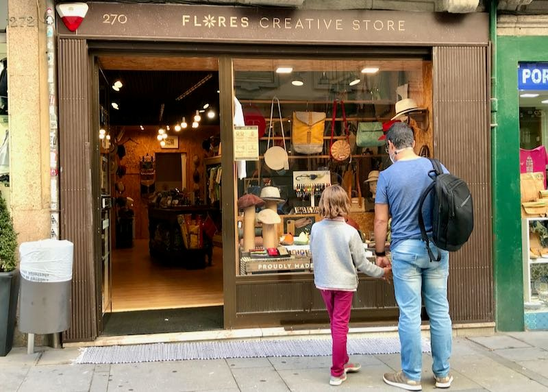Flores Creative Store sells Portuguese inspired gifts.