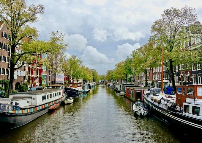 The Jordaan neighborhood in Amsterdam
