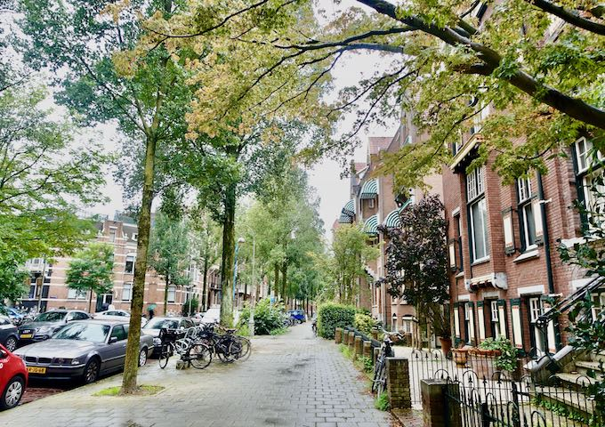 Oud-Zuid neighborhood of Amsterdam