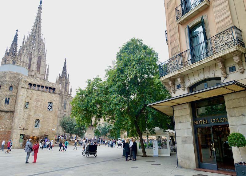 Hotel Colon in Barcelona