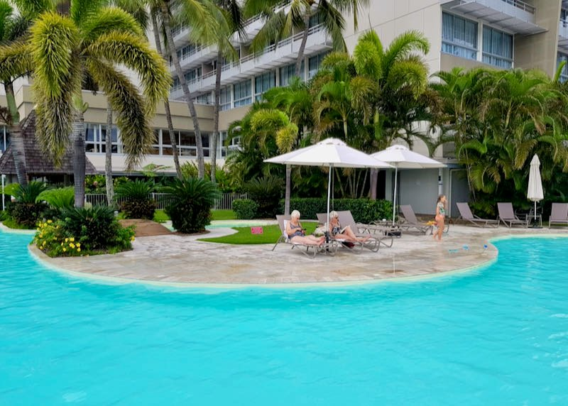 Review of Chateau Royal Beach Resort & Spa, Noumea in New Caledonia.