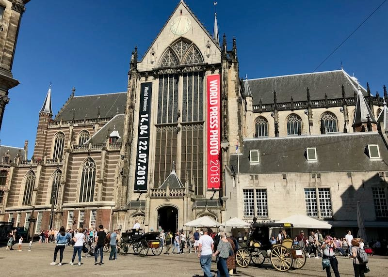 Nieuwe Kerk is known for its beautiful oak chancel and excellent exhibitions.