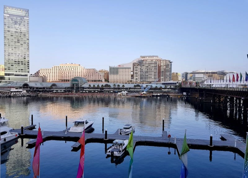 Review of Sofitel Sydney Darling Harbour Hotel.
