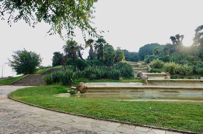 Jardins de Mirador in Montjuic, Barcelona