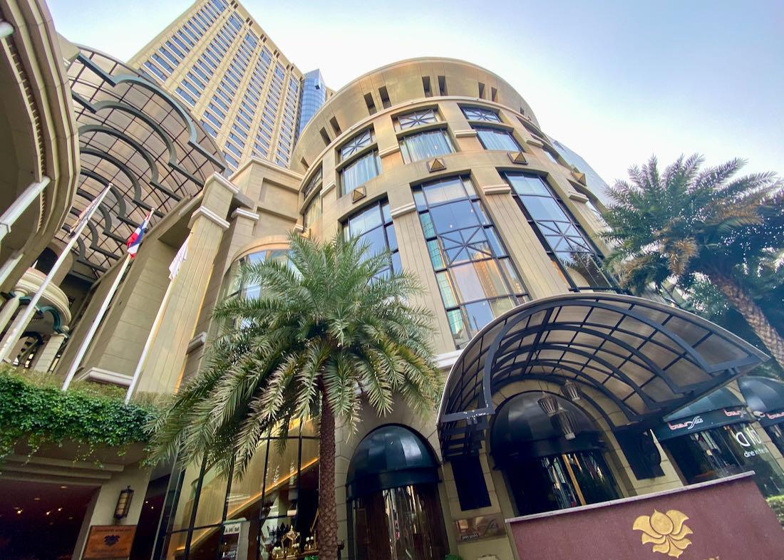 Bangkok luxury hotel in Sukhumvit.