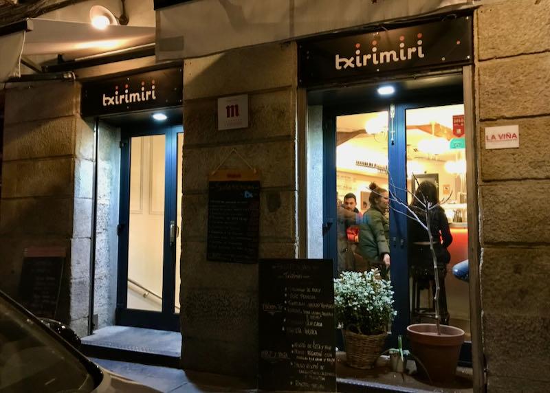 Txirimiri is a good Basque tapas bar.
