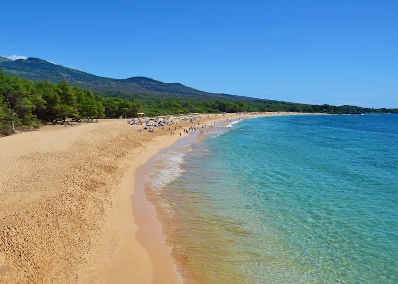 Makena Beach in South Maui