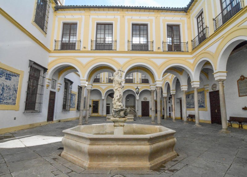 Hospital de la Caridad is a historic hospital