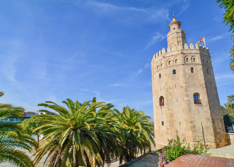 Check out the naval museum inside Torre de Oro