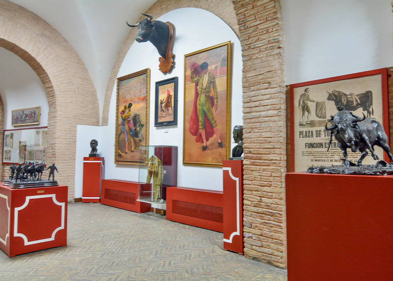 Museo Taurino displays corrida-related art.