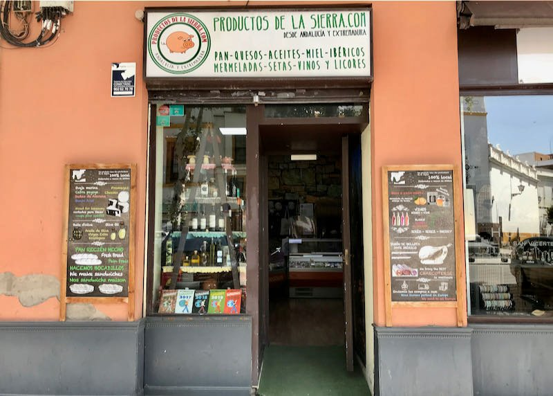 Productos de la Sierra is a popular deli