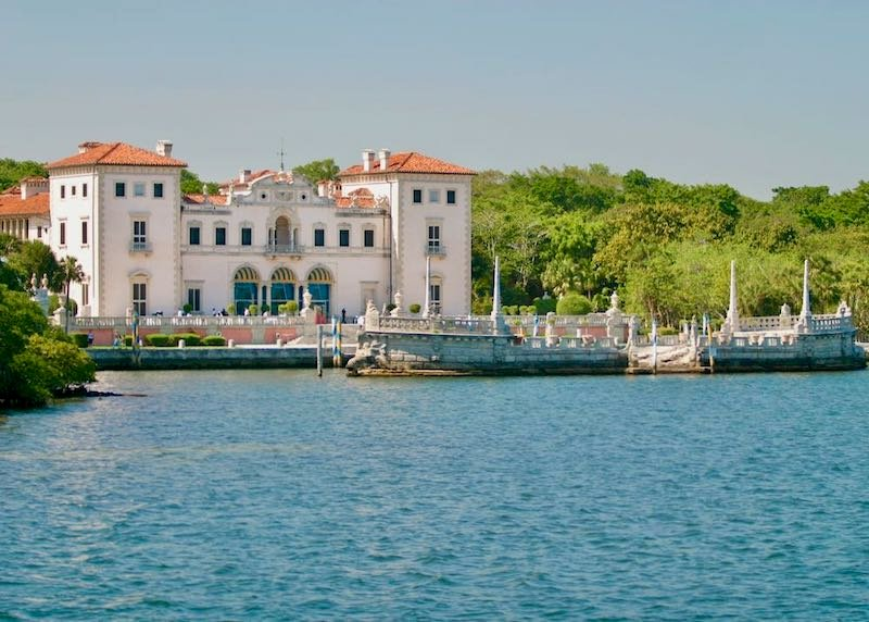 Vizcaya Museum and Gardens in Coconut Grove, Miami