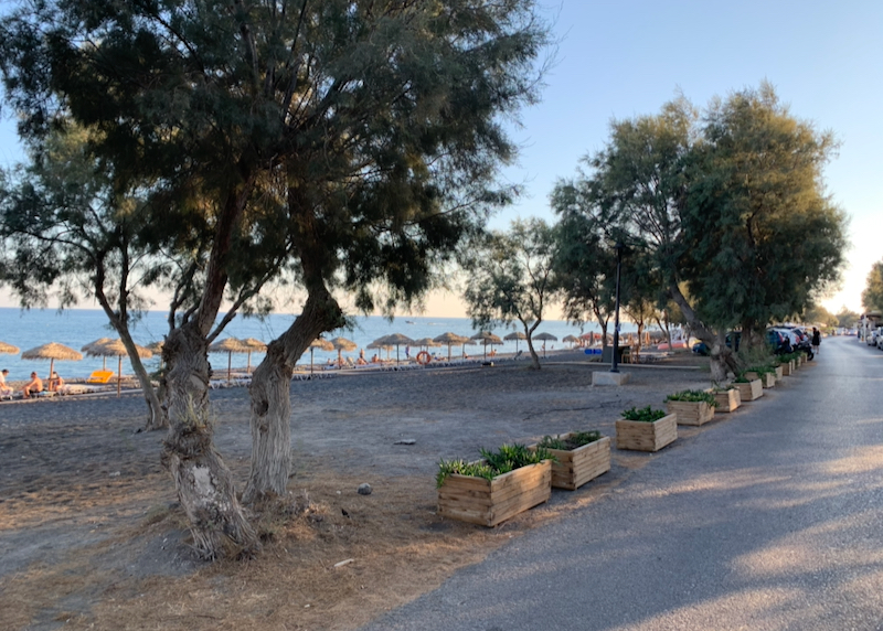 road along the beach