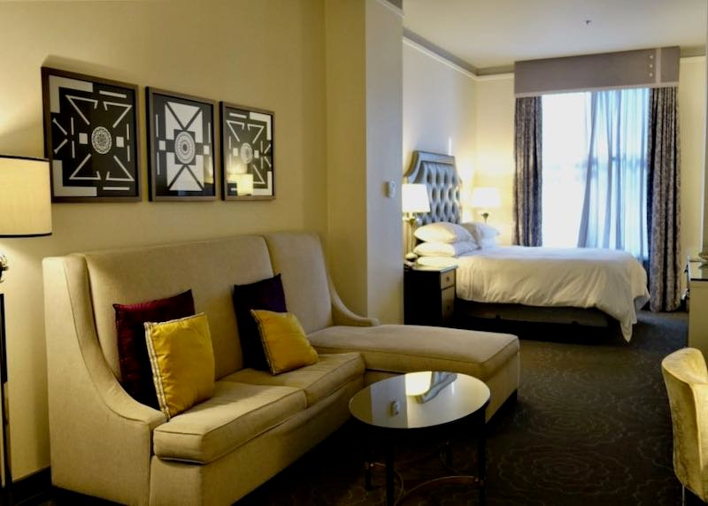 A room in the Silversmith Hotel, the best boutique hotel in Chicago